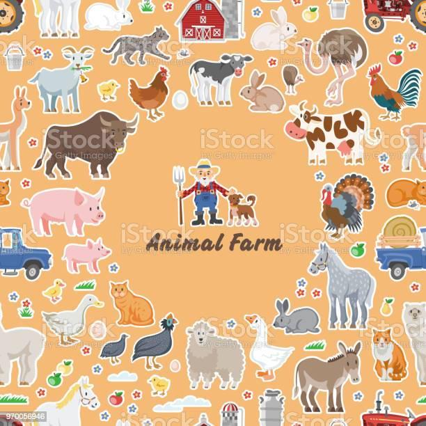 Animal farm vector id970056946?b=1&k=6&m=970056946&s=612x612&h=ntajaoudxlwqhwpczmkl9aeotn6i8c8ypl2in2qy13c=
