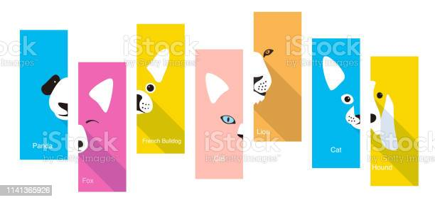 Animal flat face icon vector illustration vector id1141365926?b=1&k=6&m=1141365926&s=612x612&h=5kxx tdktnp2azrroe2d2wbp5tq6cdalsu y6vaiuaw=