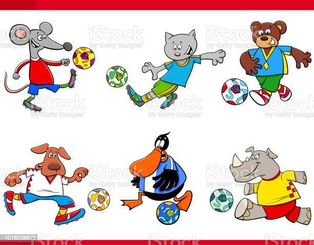Animal football players cartoon characters vector id1018238672?b=1&k=6&m=1018238672&s=612x612&h=i3mlrvn77dfwpwklb2zxknabpvzlghok3ukrxhjjjx4=