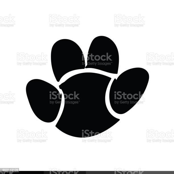 Animal footprint icon illustration design vector id653113126?b=1&k=6&m=653113126&s=612x612&h=nhvp2r65mgskxnqe4lqwbiorxlfmym3fx2hqtz3pa3k=