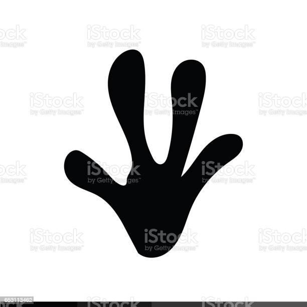 Animal footprint icon illustration design vector id653113462?b=1&k=6&m=653113462&s=612x612&h=6txvwcidnai20folzev8s4tc7efq84y7wneao8 6qz8=