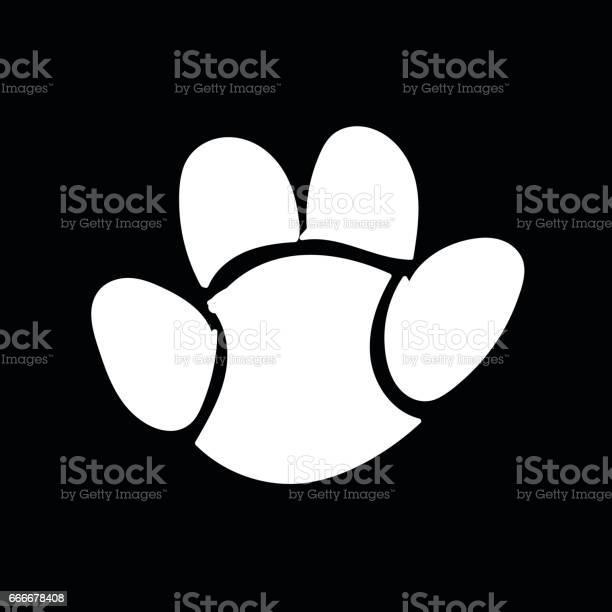 Animal footprint icon illustration design vector id666678408?b=1&k=6&m=666678408&s=612x612&h=tpztpmaq9a vsnehl1tczlvnk8bzl2guqdzo x 7dhm=