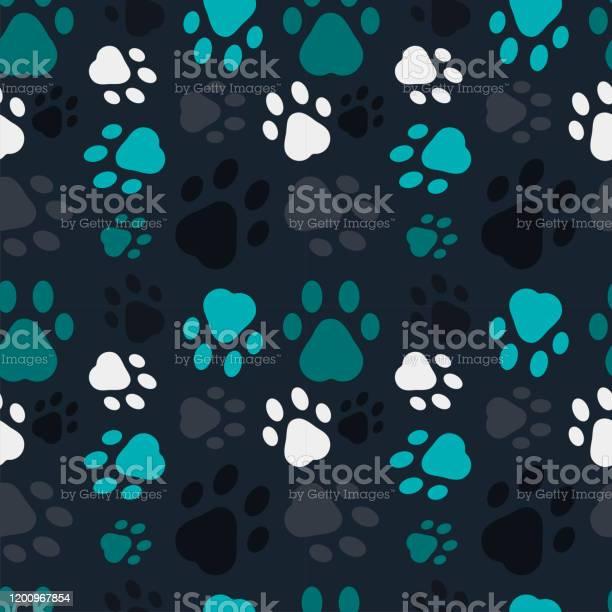 Animal footprints pattern vector id1200967854?b=1&k=6&m=1200967854&s=612x612&h=tva w3ikujvpoicd4i2f8apxaid6s22wkz8h50rnj9u=