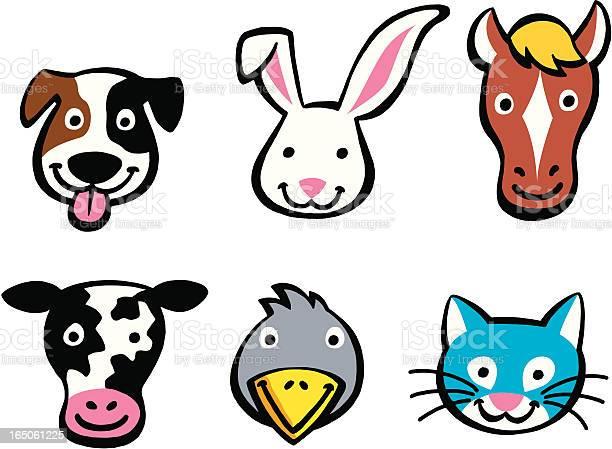 Animal heads vector id165061225?b=1&k=6&m=165061225&s=612x612&h=pxj9z3c98mtxgyybgtfft1twszot21ebbcsip 1ssc8=