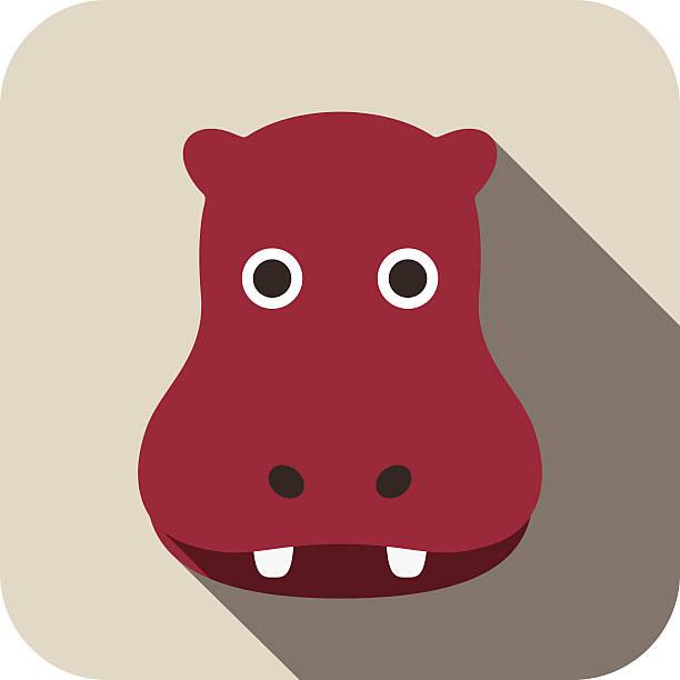 Royalty Free Hippopotamus Clip Art, Vector Images ...