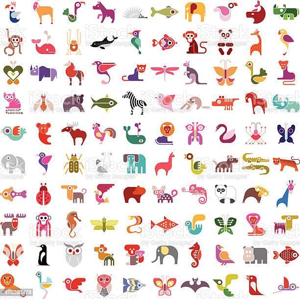 Animal icon set vector id476365478?b=1&k=6&m=476365478&s=612x612&h=ssxqtsayjohmyceyjfnsk4j1xflouaziwyulxwp0vdm=
