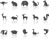 Animal related vector icons for your design and application.