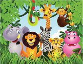 istock Animal in the jungle 121584576