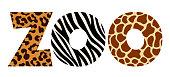 istock Animal letters zoo 1181229372