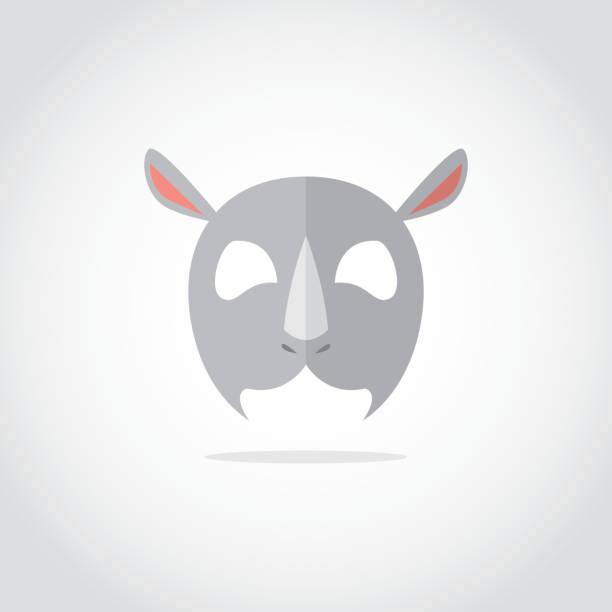 tiermaske - tierfotografie stock-grafiken, -clipart, -cartoons und -symbole