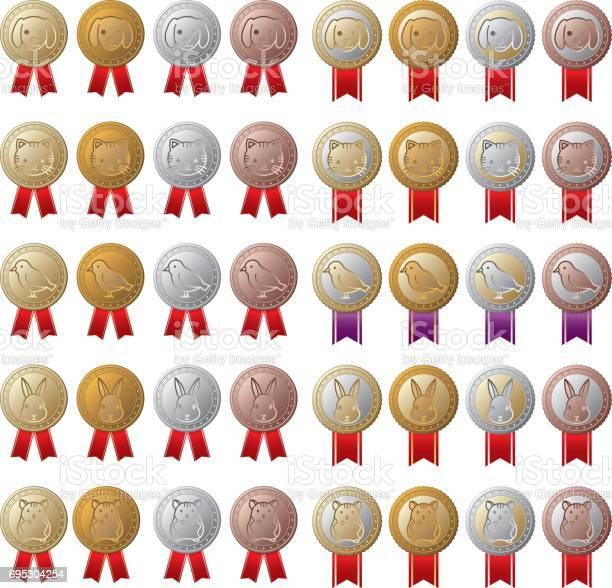 Animal medal illustration vector id695304254?b=1&k=6&m=695304254&s=612x612&h=mq0gwkq ertrl5iq8iyql2xhl59krotthkejk1tmu28=