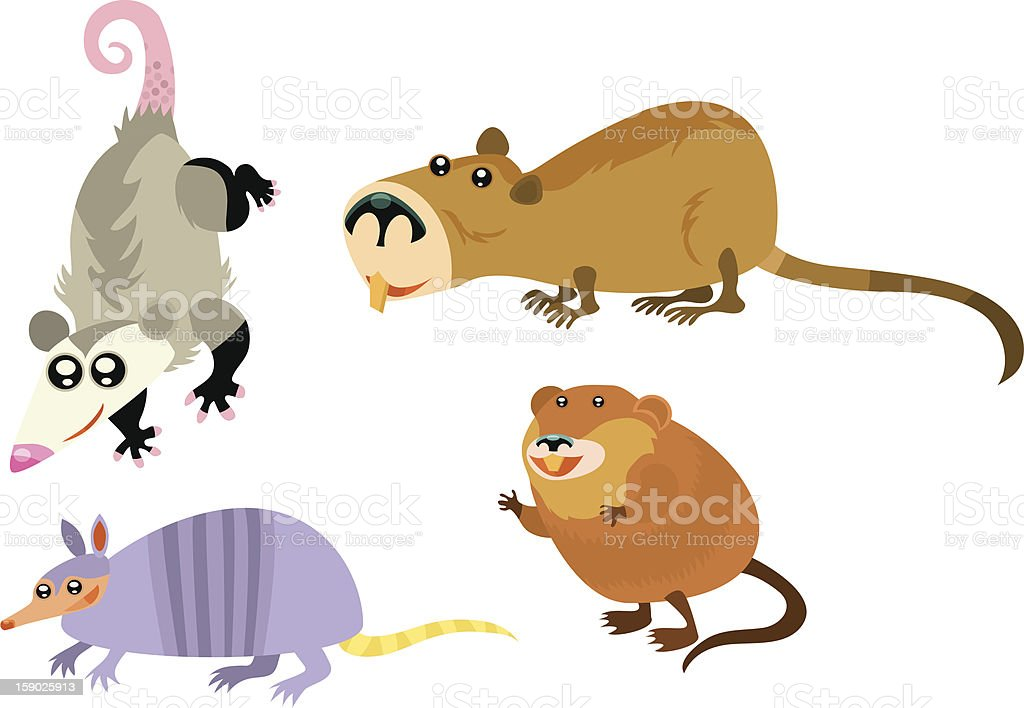 Animal Page royalty-free stock vector art