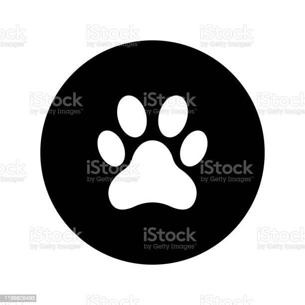 Animal paw print icon vector vector id1199826493?b=1&k=6&m=1199826493&s=612x612&h=ka wchbvx5ouuuaey1l9xahwbb7ge6 h8sfblfmzzho=