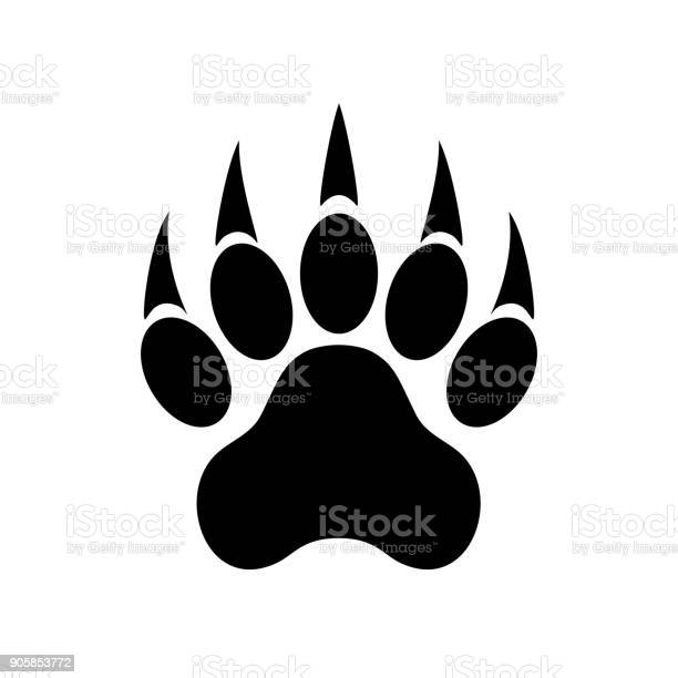 Animal paw print with claws tiger paw footprint vector illustration vector id905853772?b=1&k=6&m=905853772&s=612x612&h=ergmipzs ntkrw8vi35v9yjq5o4qkq860uzmhiwrb6u=