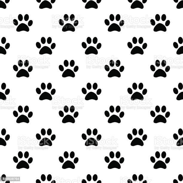 Animal paw seamless gray pattern vector id845509764?b=1&k=6&m=845509764&s=612x612&h=didlzogpntva7svwdkydlrnghlr1fz2pidpl3xeij 8=