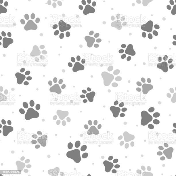 Animal paw seamless pattern vector id1005886450?b=1&k=6&m=1005886450&s=612x612&h=uiz0 wlx rlbpoigaa6hrsgnllgdlt hsjhjw09a3mw=
