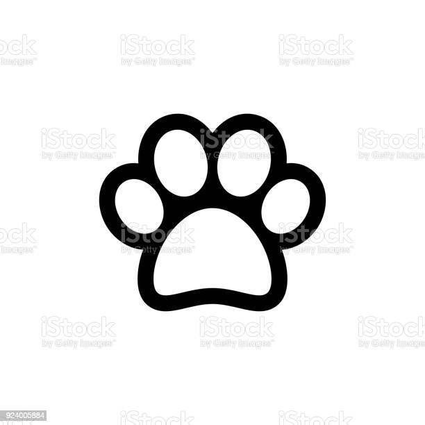 Animal paw vector icon vector id924005884?b=1&k=6&m=924005884&s=612x612&h=hqrpih gzvnds7iviflcfwb bljns z2vg89ubpagvk=