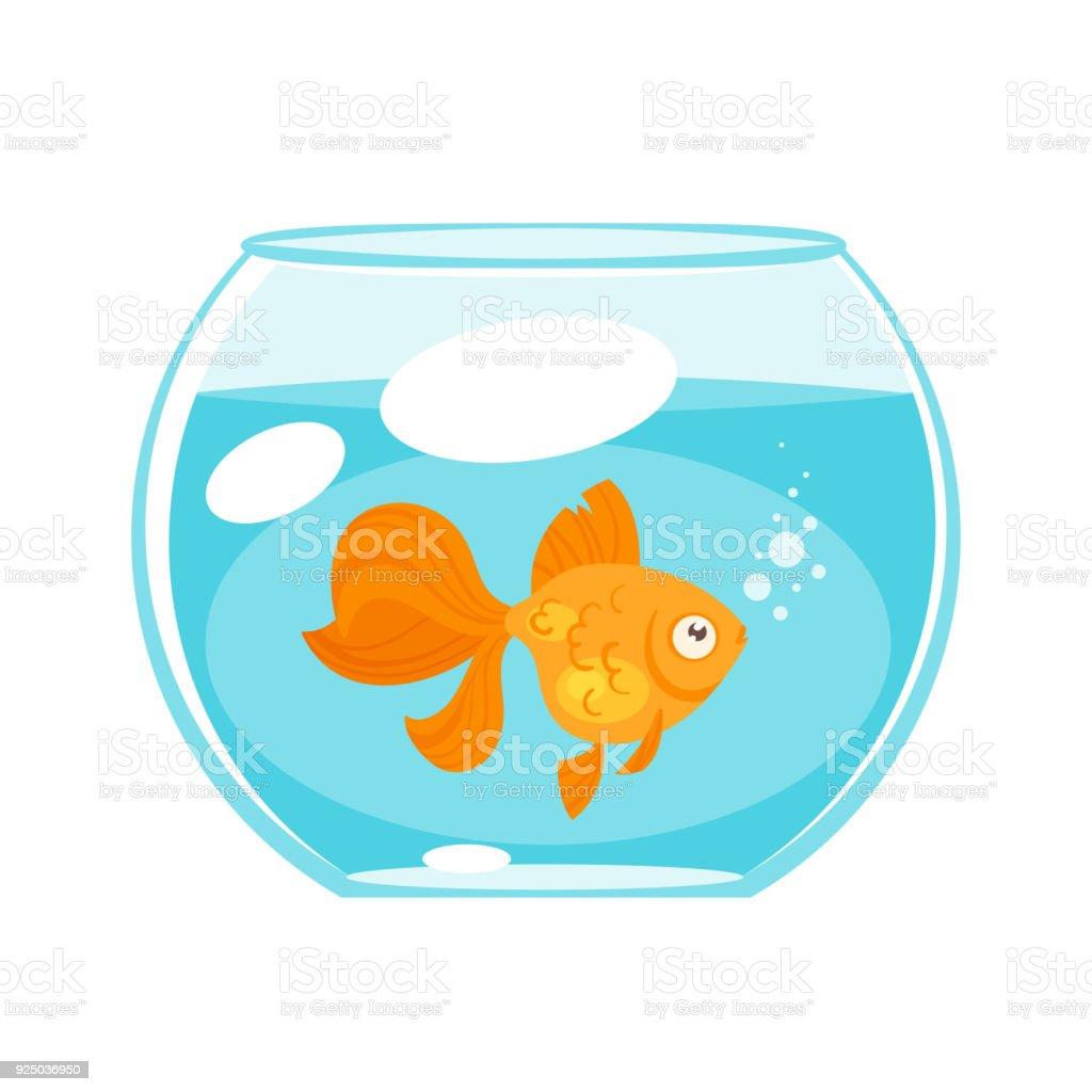 Ilustración de Peces Mascotas Animales Oro y más banco de imágenes ...