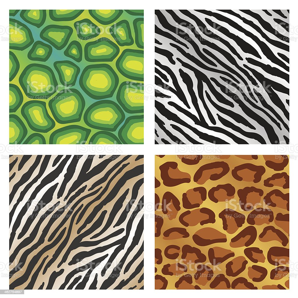 animal print background stock vector art more images of alligator rh istockphoto com