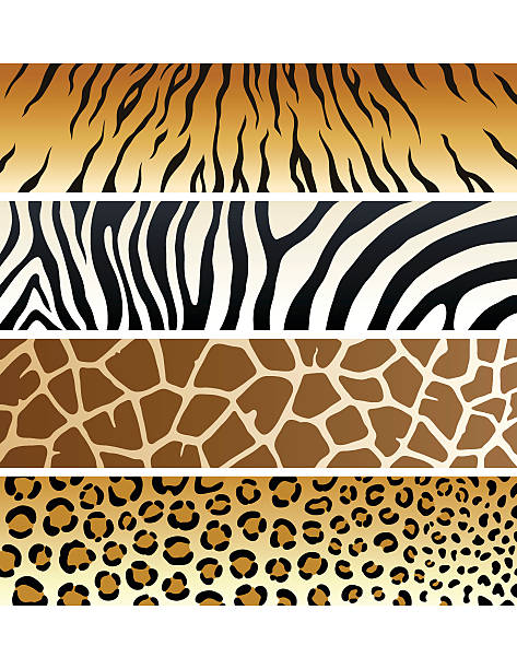 Animal Print | Banners Furry alternative included as a bonus  animal markings stock illustrations