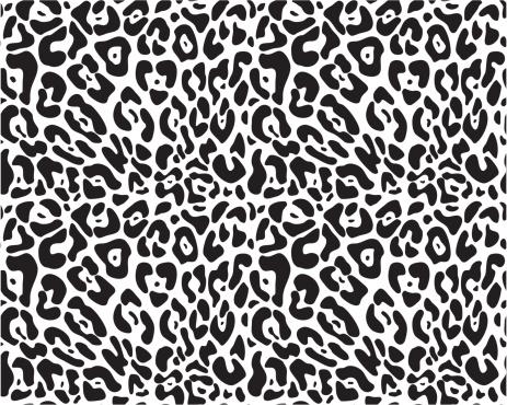 Animal print seamless vector pattern
