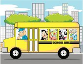 Animal School Bus