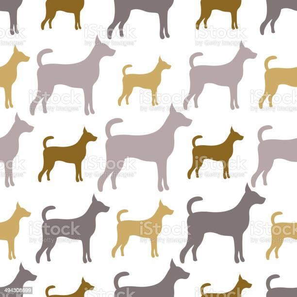 Animal seamless vector pattern of dog silhouettes endless textu vector id494308699?b=1&k=6&m=494308699&s=612x612&h=h jlkzhqxafz9brda8cbqj99ctimk951w8mbywobwbm=