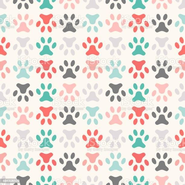 Animal seamless vector pattern of paw footprint endless texture vector id494308539?b=1&k=6&m=494308539&s=612x612&h=zyfzir0 pjlvcl6ibimrmr f1f95vv0kwzp7bnav0pm=