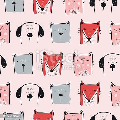 Animal Set Pattern