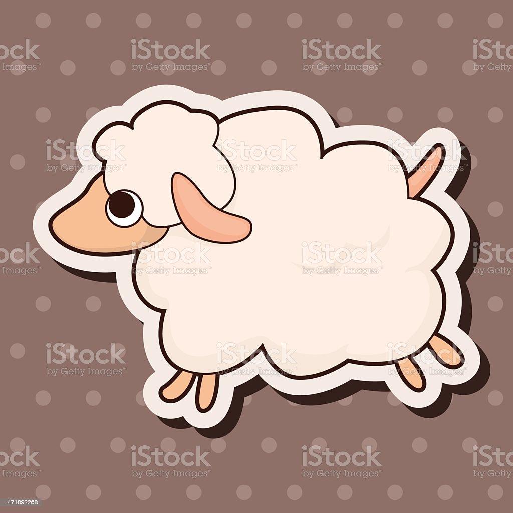 動物の羊カットイラストテーマの要素 15年のベクターアート素材や画像を多数ご用意 Istock