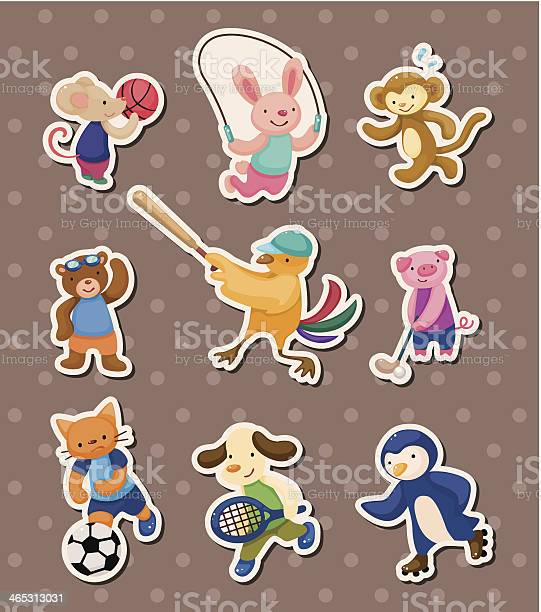 Animal sport stickers vector id465313031?b=1&k=6&m=465313031&s=612x612&h=xdx44rstov9evdhooutur0iforcuimflwjgitj2ypug=