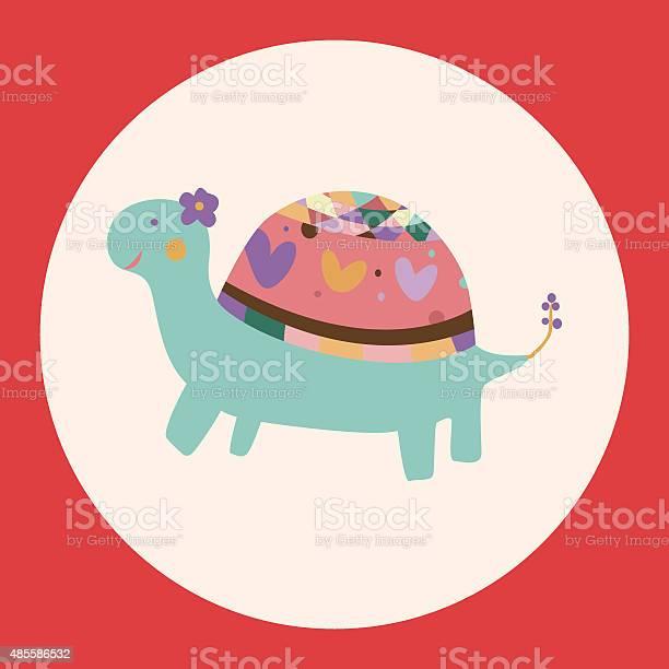 Animal turtle cartoon theme elements vectoreps vector id485586532?b=1&k=6&m=485586532&s=612x612&h=uikaojbp cvtyzldlzpedw7brd  jjedylsndslmi g=