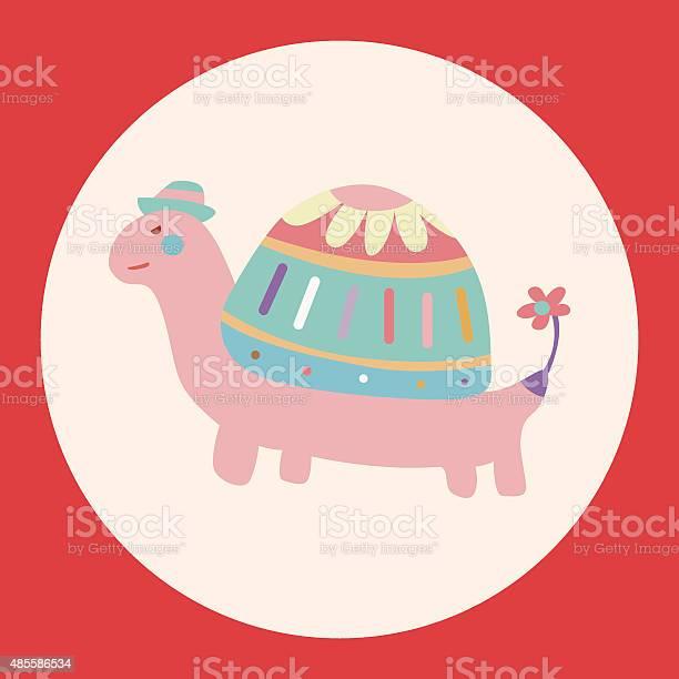 Animal turtle cartoon theme elements vectoreps vector id485586534?b=1&k=6&m=485586534&s=612x612&h=rmnqhwryo2f3cy0 vgbikish0enbs1n0piq 0k8qjsa=