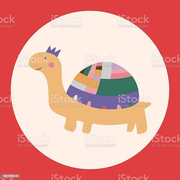 Animal turtle cartoon theme elements vectoreps vector id485586540?b=1&k=6&m=485586540&s=612x612&h=yt7qz63d vrl8tbho45r4 2jsc 5pmp2 p46lcgfynk=