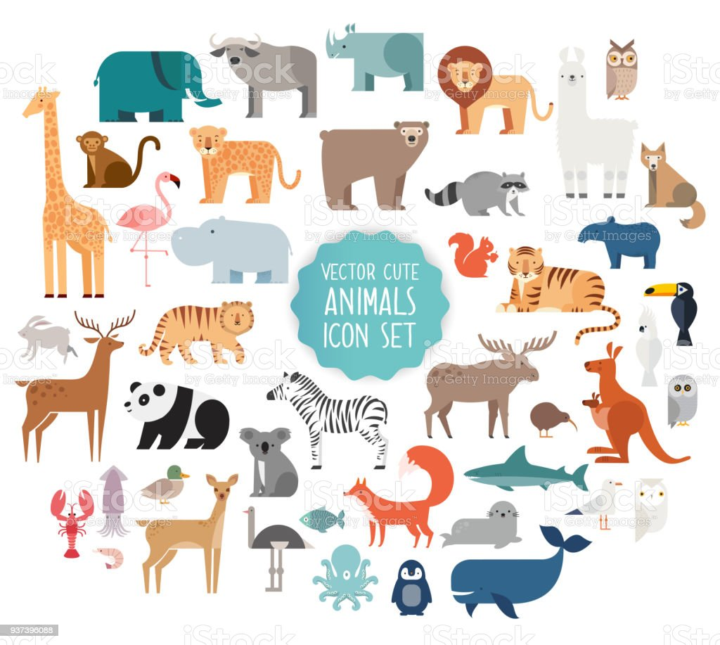 Animal vector illustration vector art illustration
