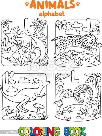 istock Little iguana para ABC. Alfabeto I 590291888 istock Little ...