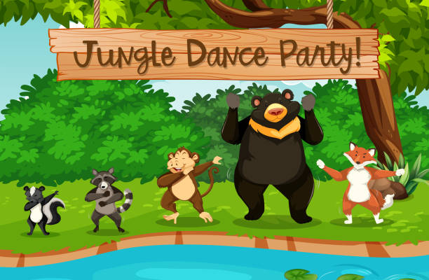 Royalty Free Dancing Bear Pictures Clip Art, Vector Images ...