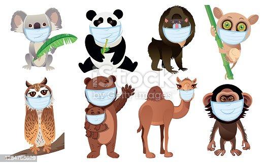 istock Animals and Mask 1284768629