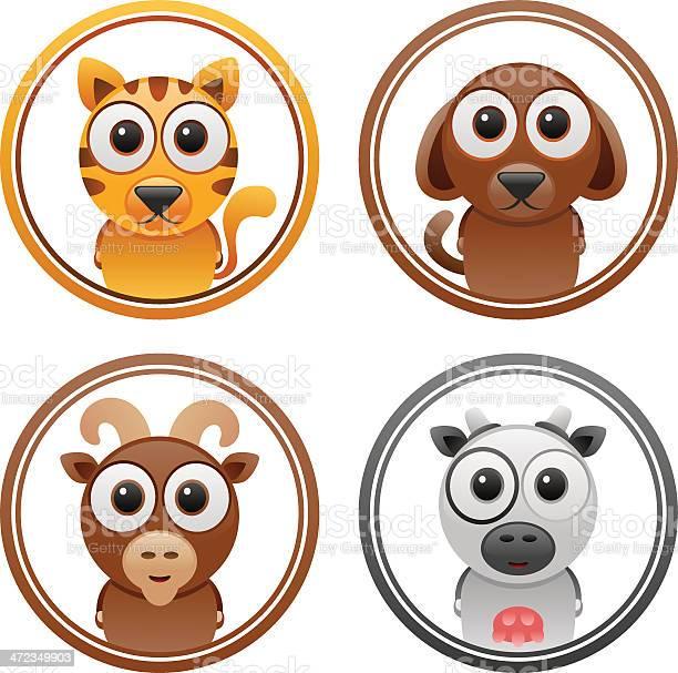 Animals badge set 1 vector id472349903?b=1&k=6&m=472349903&s=612x612&h=gz26ycreqkec vlg7q3inrefkxsjsuryjkbchjxvwso=