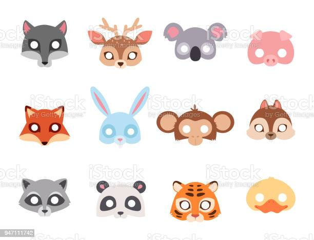 Animals carnival mask vector festival decoration masquerade and party vector id947111742?b=1&k=6&m=947111742&s=612x612&h=elumxqca frvwhu pxdk zr6yzjn6zs6epejfnf7dca=