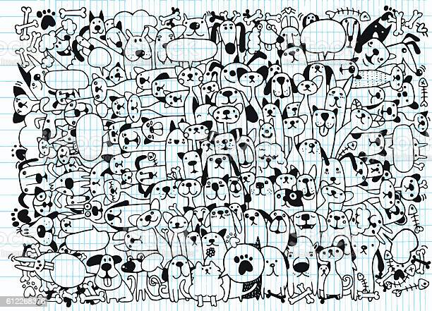 Animals cats and dogs vector pattern hand drawn doodles pets vector id612268376?b=1&k=6&m=612268376&s=612x612&h=bl995 9 2a1sjdnctsjo91atnpvxm rsr4msnfoi9le=