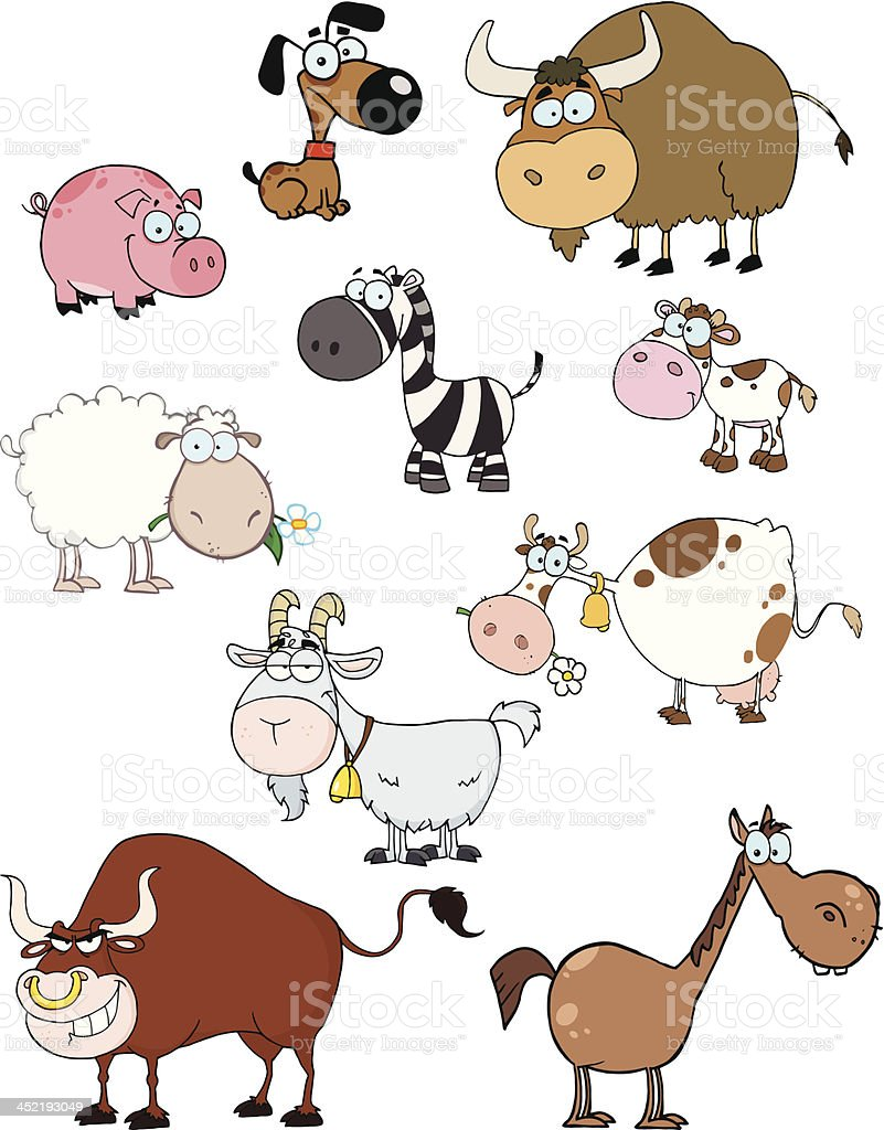 Animals Collection royalty-free stock vector art