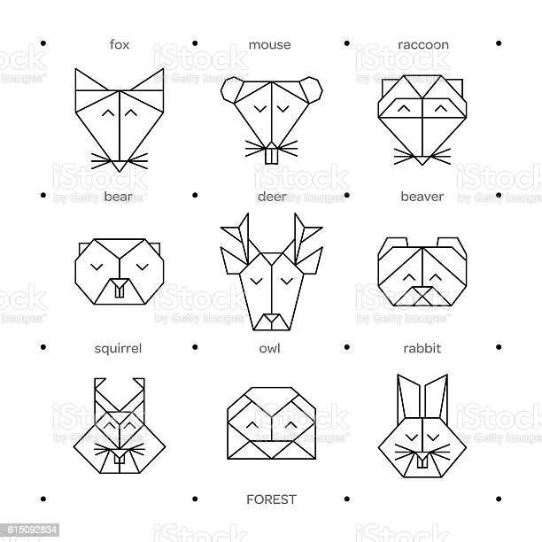 Animals farm origami 8 vector id615092834?b=1&k=6&m=615092834&s=612x612&h=uev idbkrwutujxrhlds2ziqjrpezawhej0psg6r py=