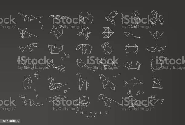Animals flat origami set vector id657189520?b=1&k=6&m=657189520&s=612x612&h=xthfkrp0ww 0yc wi276psfbh0q5o5zlqzkbzgb95 y=