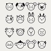 16 Animals icons