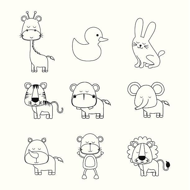 Vectores de Tigre Bebe e Ilustraciones Libres de Derechos - iStock