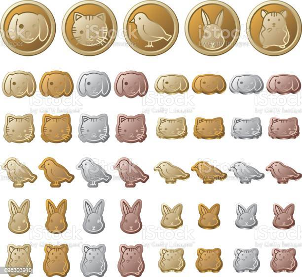Animals illustration of coins vector id695303910?b=1&k=6&m=695303910&s=612x612&h=groq626pce8bmsdkz2hqkcx1iknrgplnddyboe29mre=