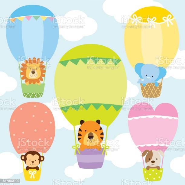 Animals in hot air balloons vector illustration set vector id847500220?b=1&k=6&m=847500220&s=612x612&h=9k5gexz0miycbzsxaeozs8bhppckdtehnqkfhm80zsq=