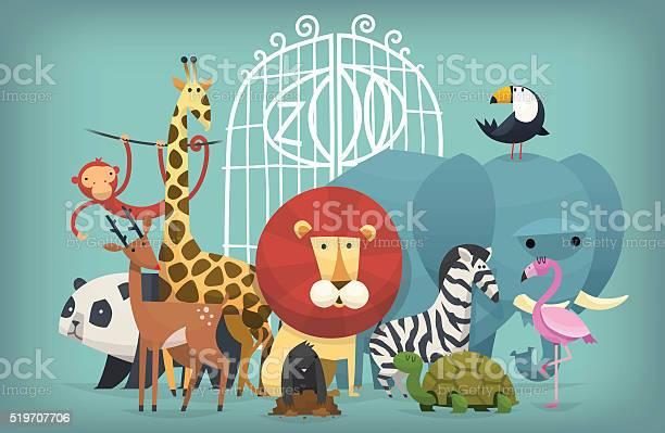 Animals in zoo vector id519707706?b=1&k=6&m=519707706&s=612x612&h=vjdhvkrc5an50gnvwgbb d3fogfayrhnsscpqamb jc=