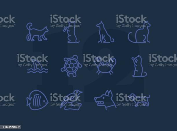 Animals line icon set vector id1169553497?b=1&k=6&m=1169553497&s=612x612&h=knqn1htb45jvpkvniz45flgvjoavk2inmbac9dypuug=